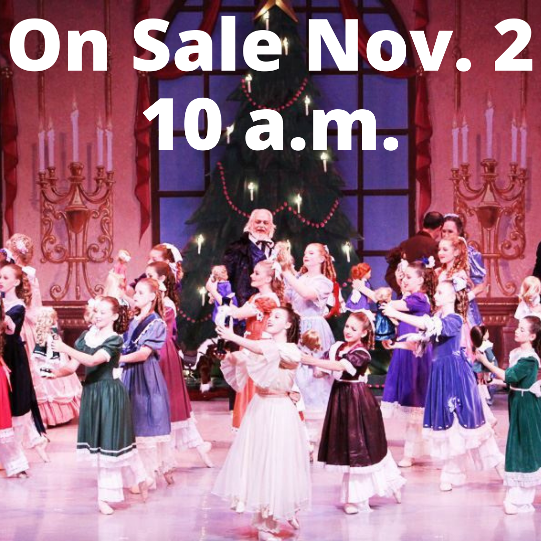 On sale Nov. 2 at 10 a.m.