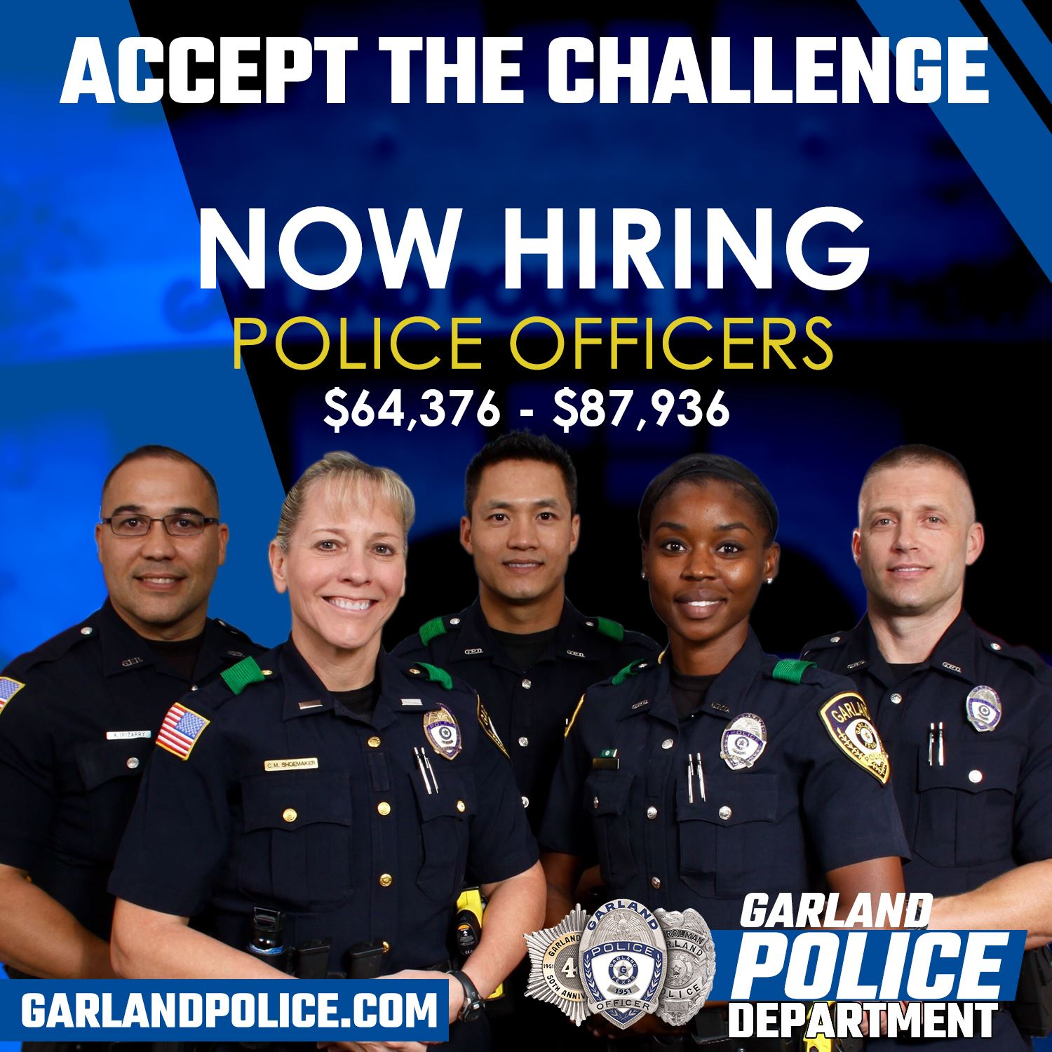 Police Now Hiring